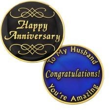 Husband Anniversary Medallion