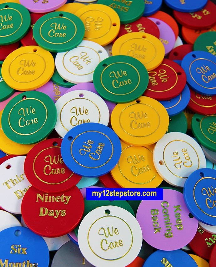 Why 12 Step Meetings Honor Time With Plastic Chipsmy 12 Step Store